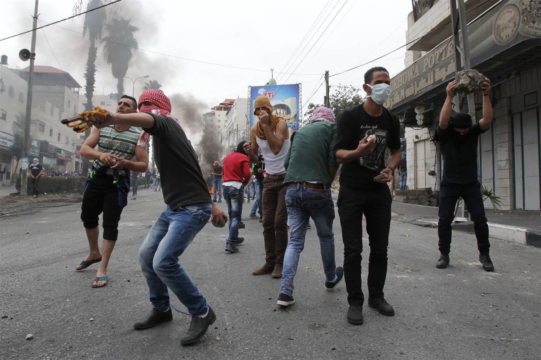 Clashes erupt in West Bank, Gaza