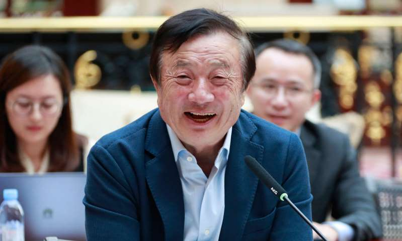 US cannot crush technology firm, Huawei founder says