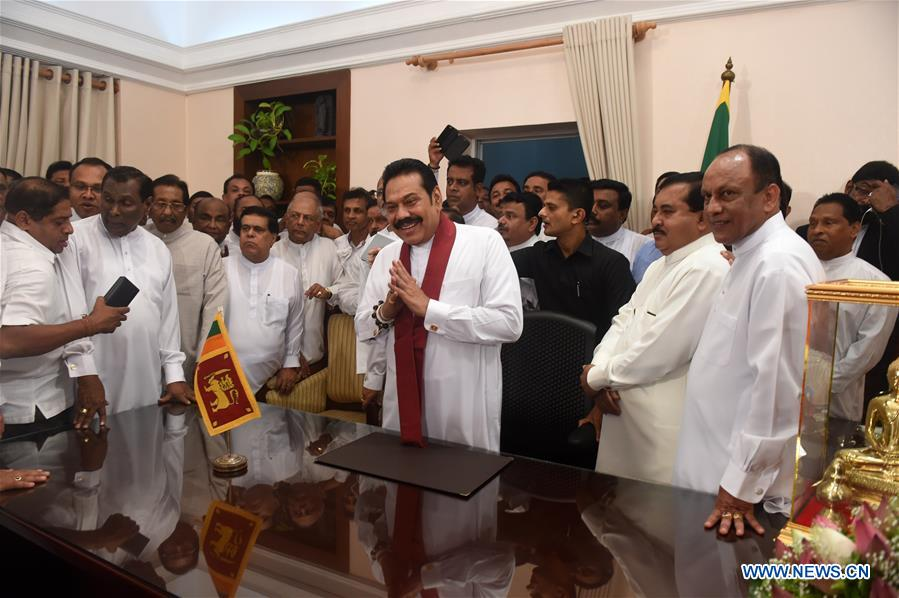 New ministers sworn in amid political crisis in Sri Lanka