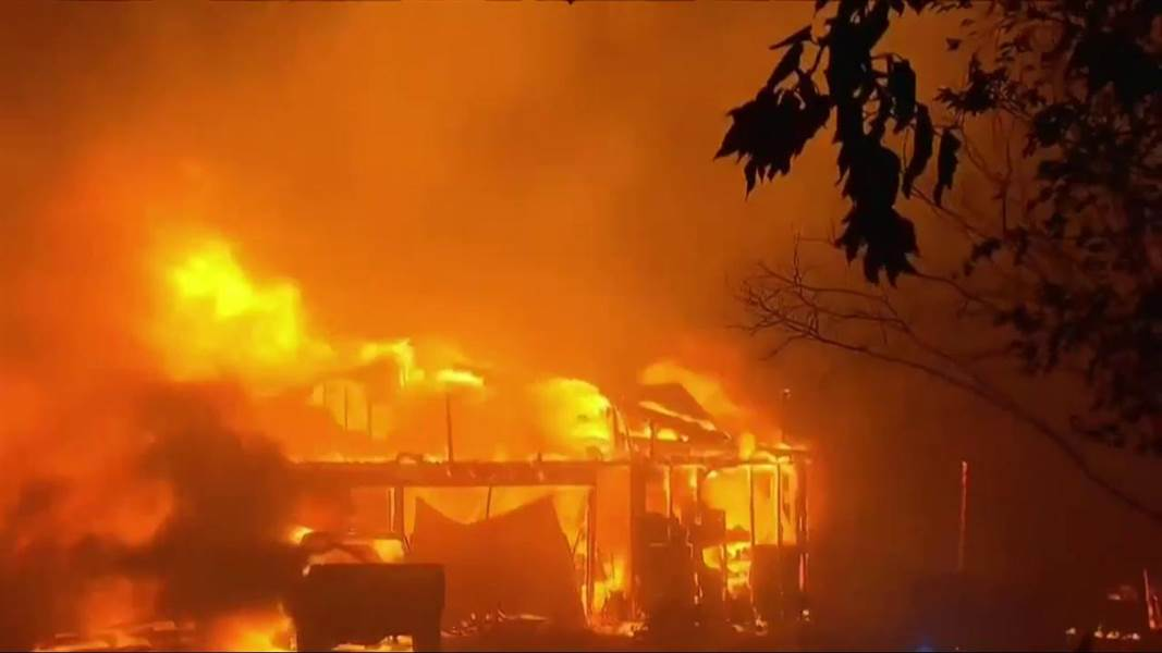 15 people killed in Wildfires in California, US