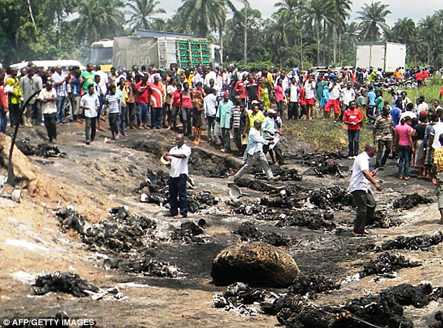 100 people killed in Gas tanker truck fire mishap in Nigeria