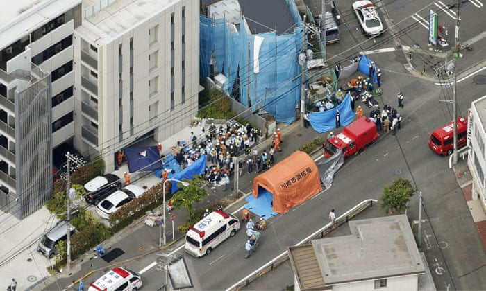 At least 19 people injured in mass stabbing attack in Japan