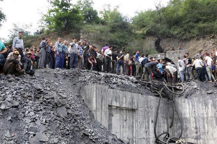 At least 35 killed in Irancoal mine explosion