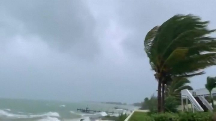 Hurricane Dorian cause severe flooding in Bahamas