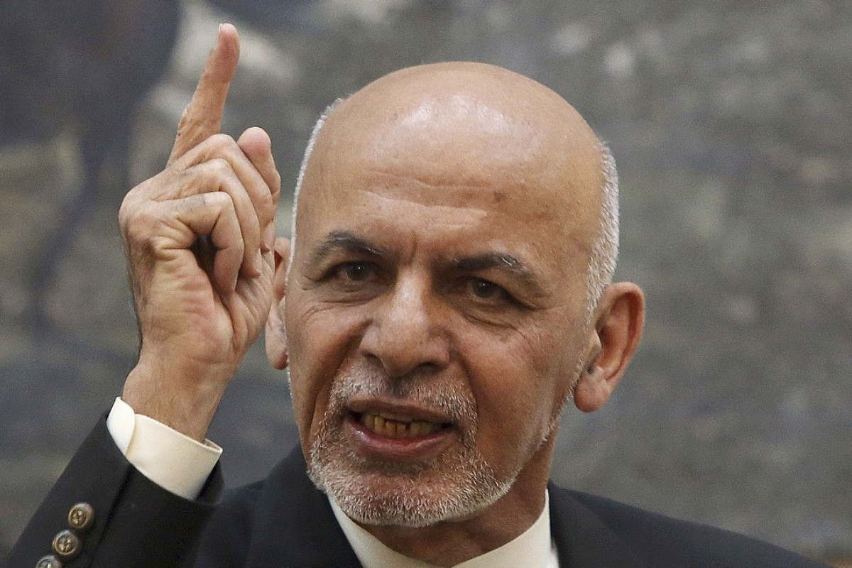 Afghan President Ashraf Ghani rejects foreign interference as peace talks underway