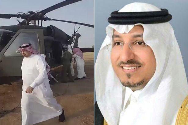 Saudi Prince killed in chopper crash
