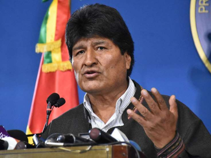 Mexico offers asylum to former Bolivian President Evo Morales