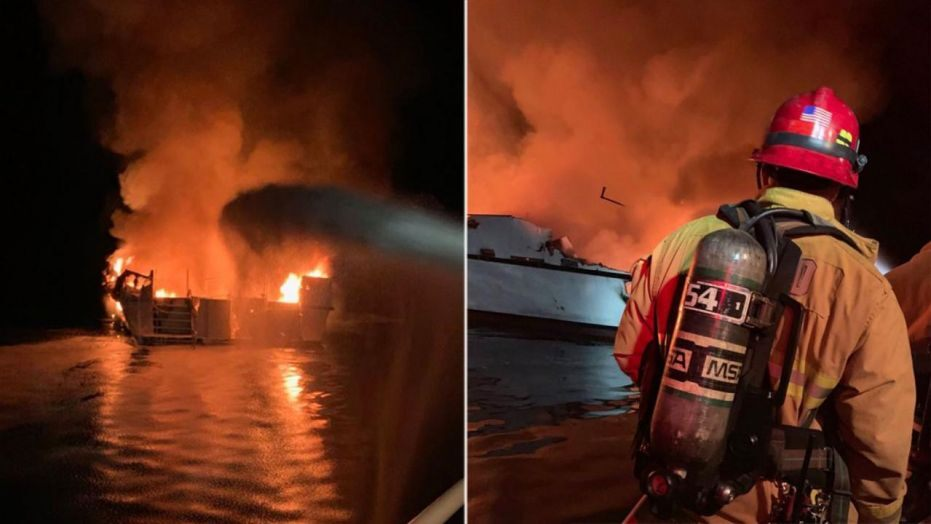 8 died, two dozens missing after scuba diving boat caught fire off California coast