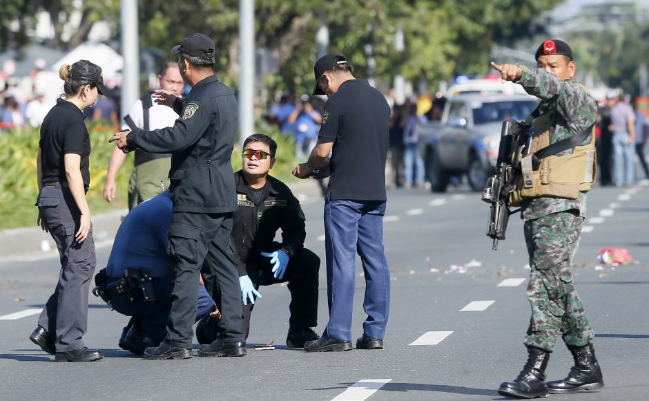 Philippines: Police detonate suspicious package found near the US embassy