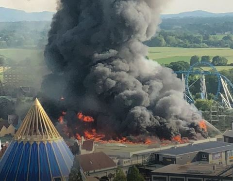 Thousands evacuated as fire breaks out at Germany