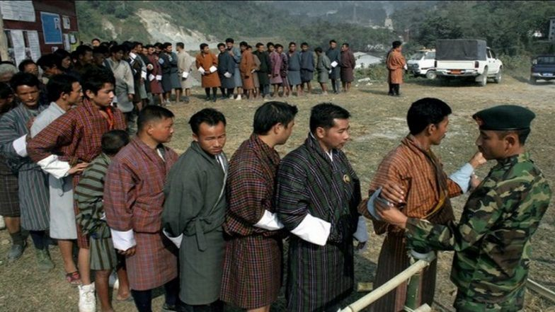 General elections are being held in Bhutan today