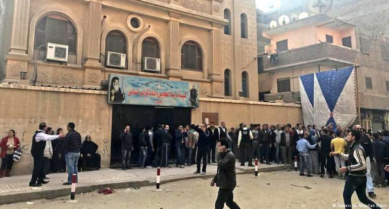 Egypt president mourns victims of Cairo church terror attack