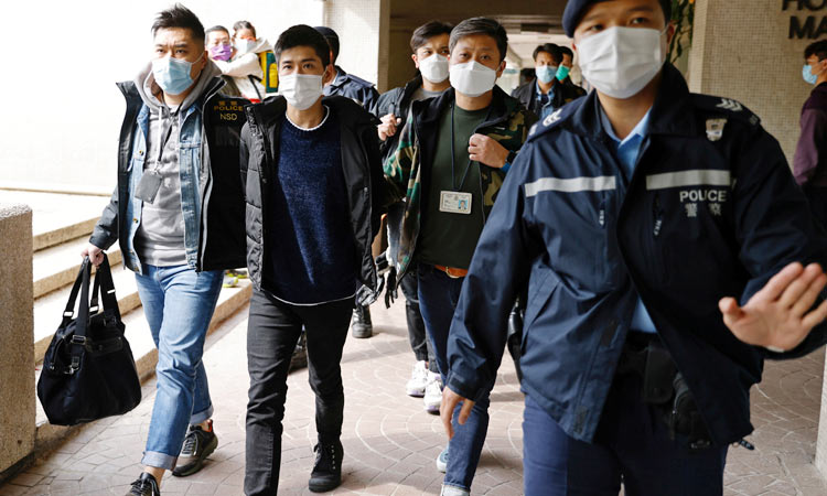Five Hong Kong democracy protesters seek asylum in the US