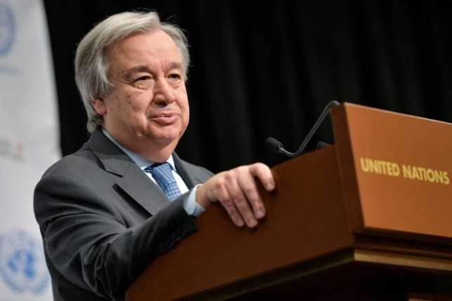 Antonio Guterres : UN chief  condemns North Korea