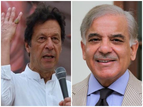 Imran Khan, Shehbaz Sharif file nomination papers for Pak PM poll