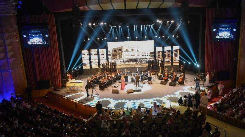 Egyptian Opera performs for the first time in Saudi