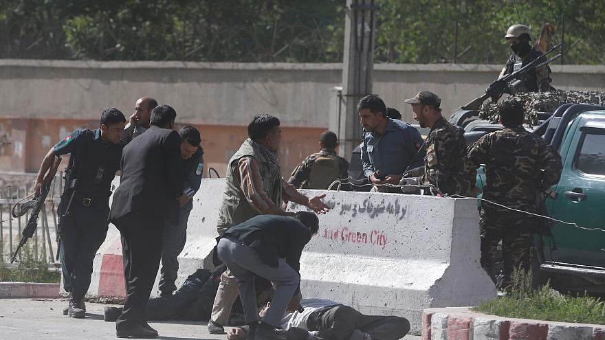 Two journalists among at least 20 killed in twin blasts in Kabul