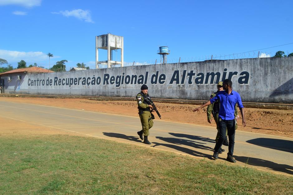 Death toll in group clash in prison rises to 57 in Brazil
