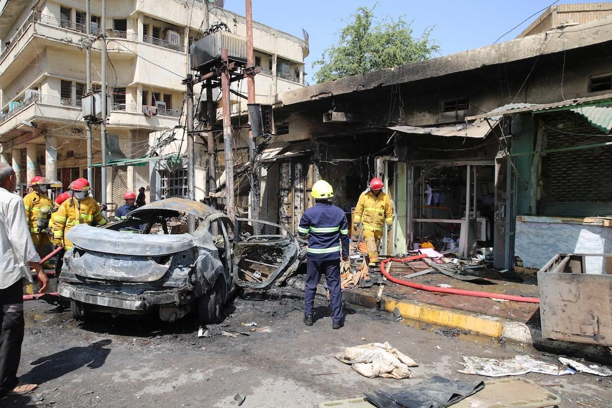 2 killed in car bomb attack in Mosul, Iraq