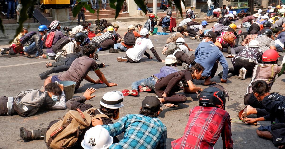 nineprotesterskilledinmyanmarviolence