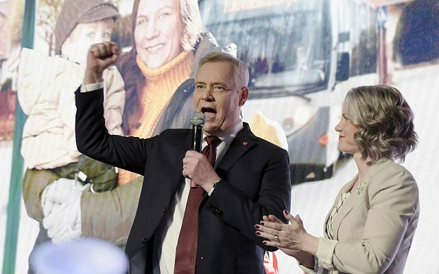 Social Democrats party wins general elections in Finland