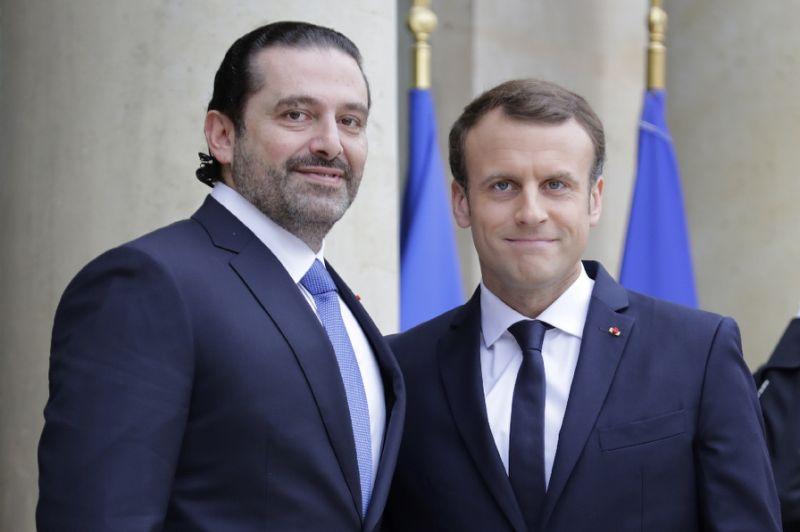 Macron welcomes Lebanon