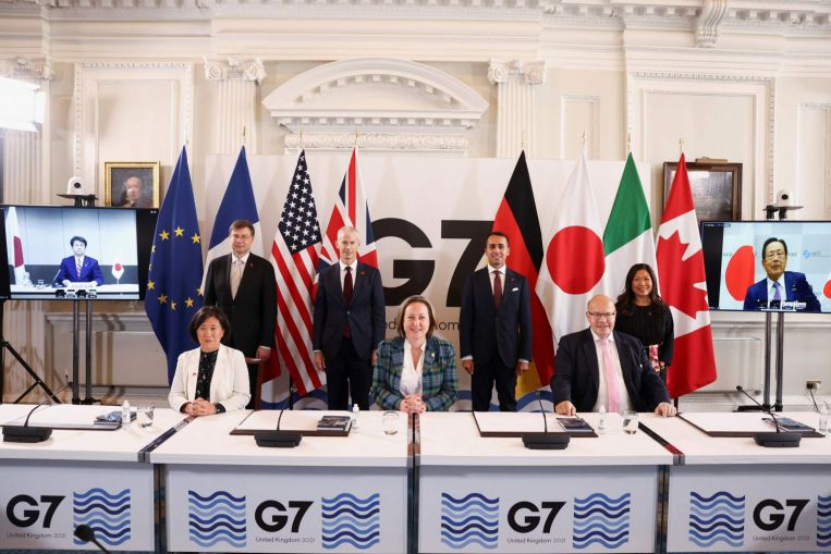 G-7 nations agree on principles to govern cross-border data use