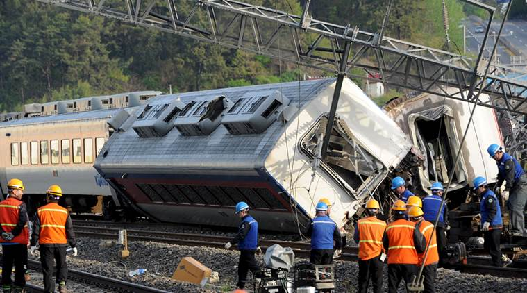 One killed in train accident in South Korea