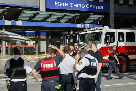 Four including gunman killed in US shooting