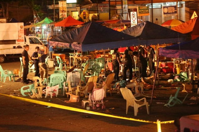 15 people killed in a bomb attack in Philipines