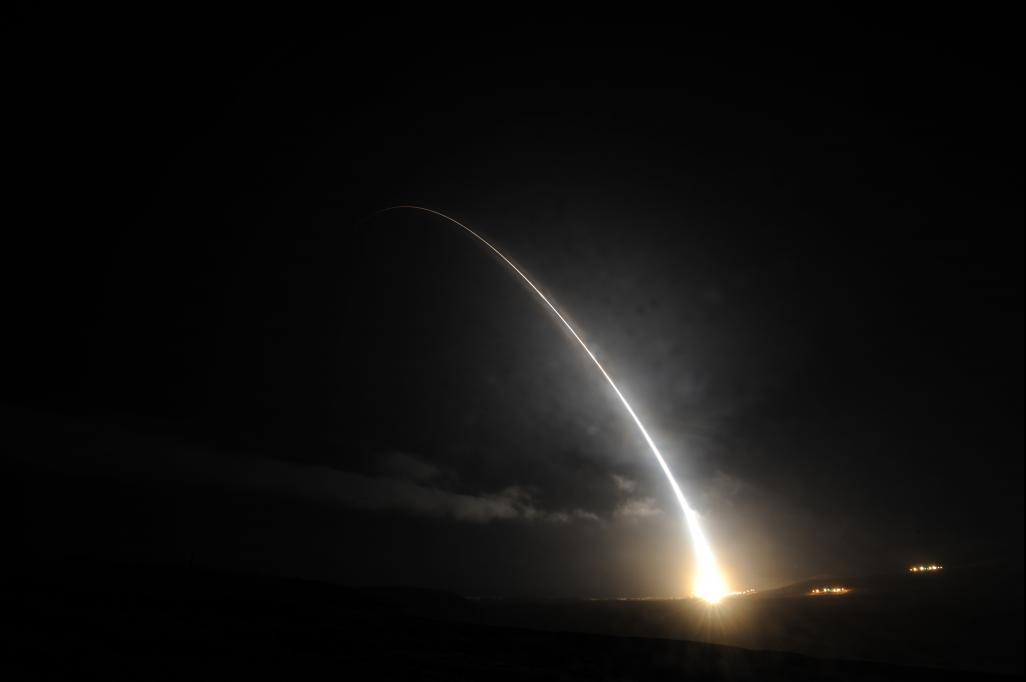 US Air Force test launches unarmed intercontinental ballistic missile