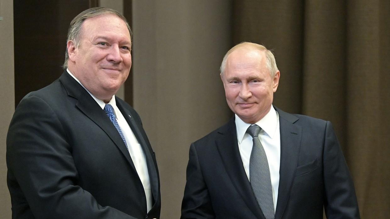 Putin tells Pompeo he wants to