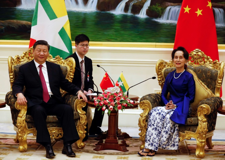 China and Myanmar 'stand together' despite Rohingya backlash