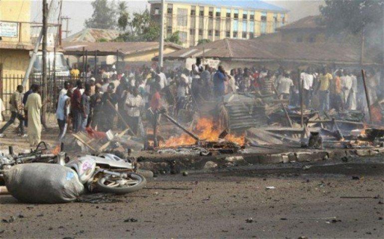 Suicide bombers kill 12 in Nigeria's Borno state: police