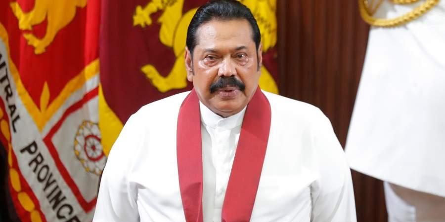 srilankanpmmahindarajapaksatoarriveinnewdelhitoday