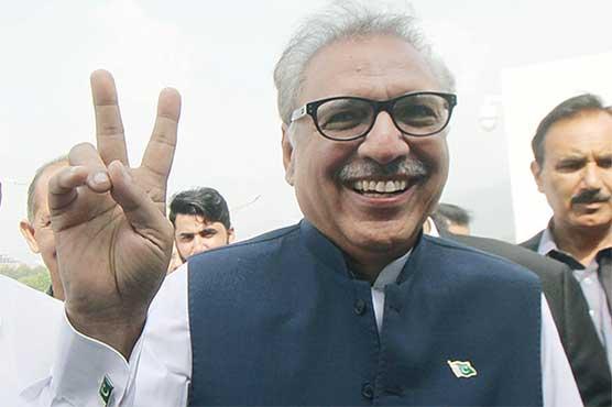 Arif Alvi elected new President of Pakistan
