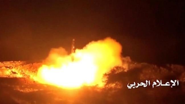 Yemeni missile hits gathering of Saudi-backed forces