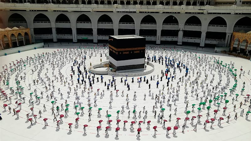 Muslims to perform downsized Hajj pilgrimage amid coronavirus pandemic