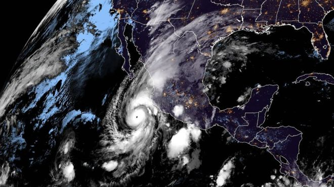 Hurricane Willa makes landfall in Mexico