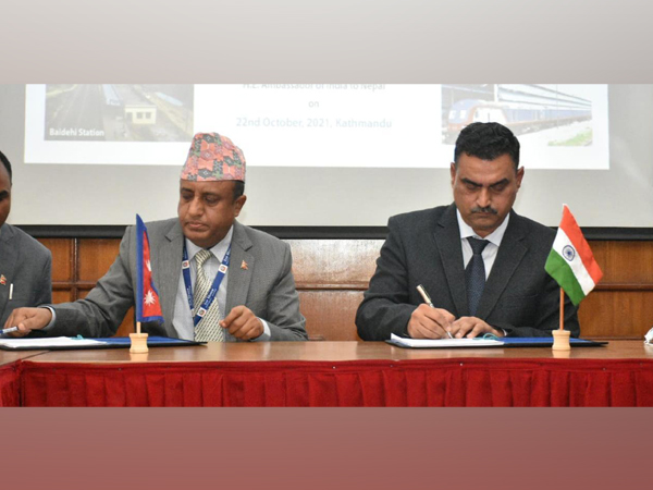 India hands over Jaynagar-Kurtha cross-border rail link to Nepal govt