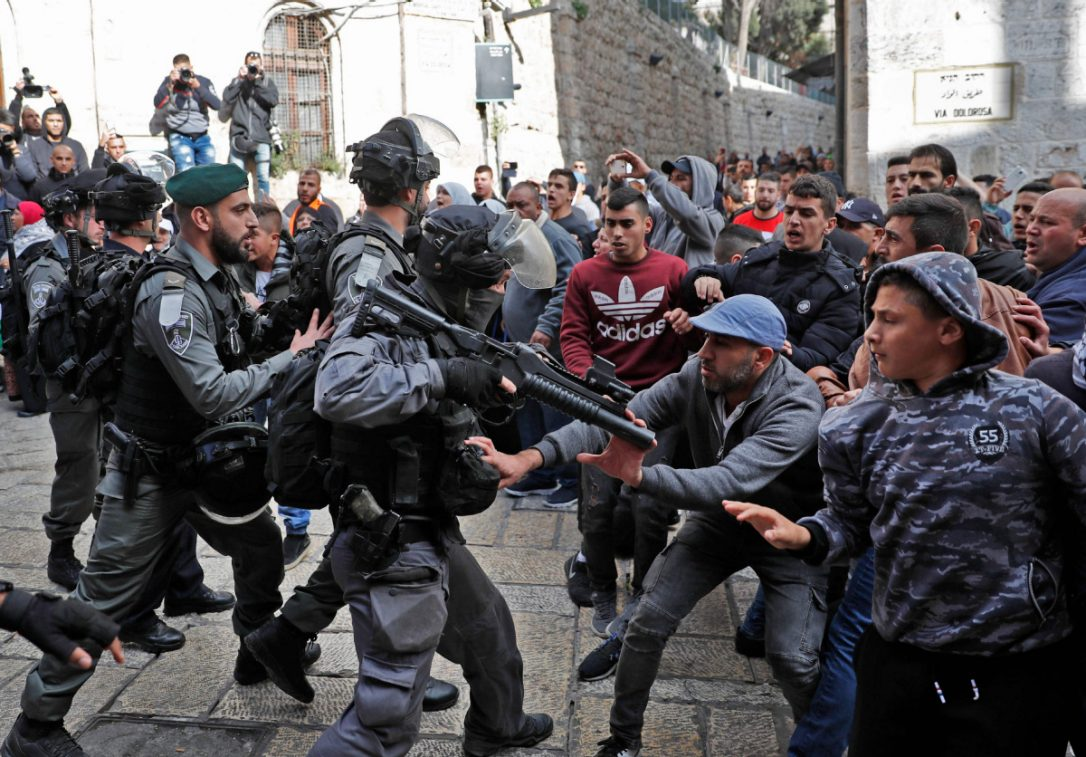 Four Palestinians killed in clashes with Israeli forces in Gaza