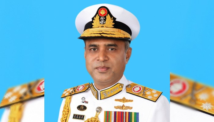 Banglaesh Navy Chief on official visit to India