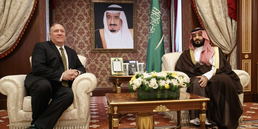 Pompeo holds talks with Saudi King, Crown Prince in Jeddah