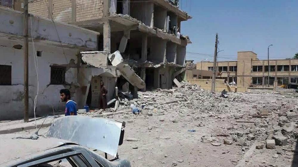Russian air strikes kill 16 civilians in Syria