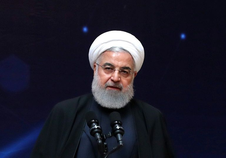 Iran president Hassan Rouhani says US