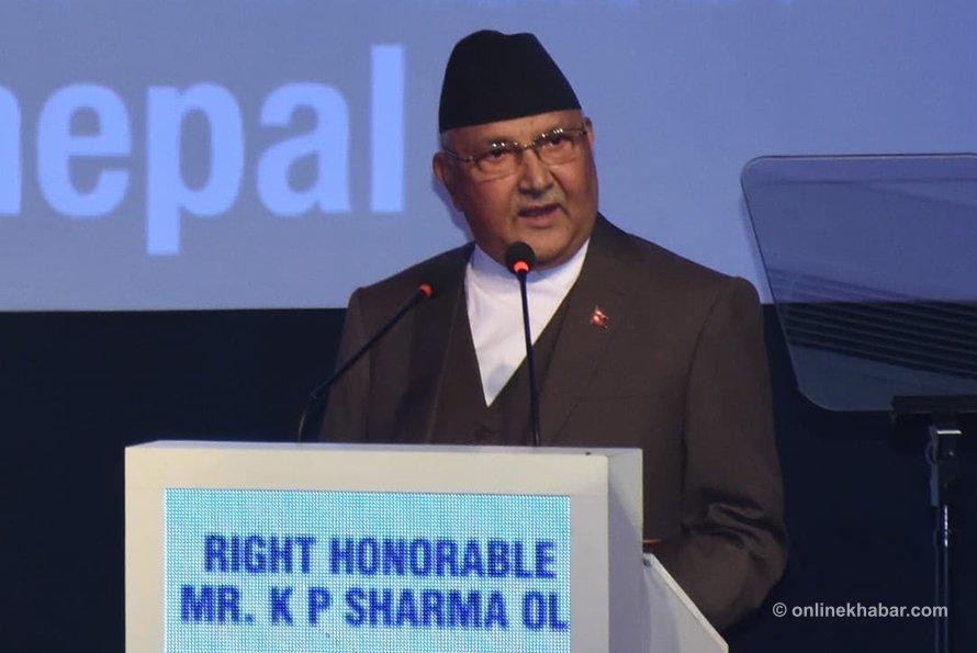 PM Oli calls upon investors to invest in Nepal