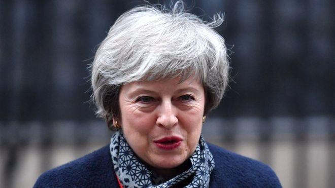 Theresa May warns MPs against