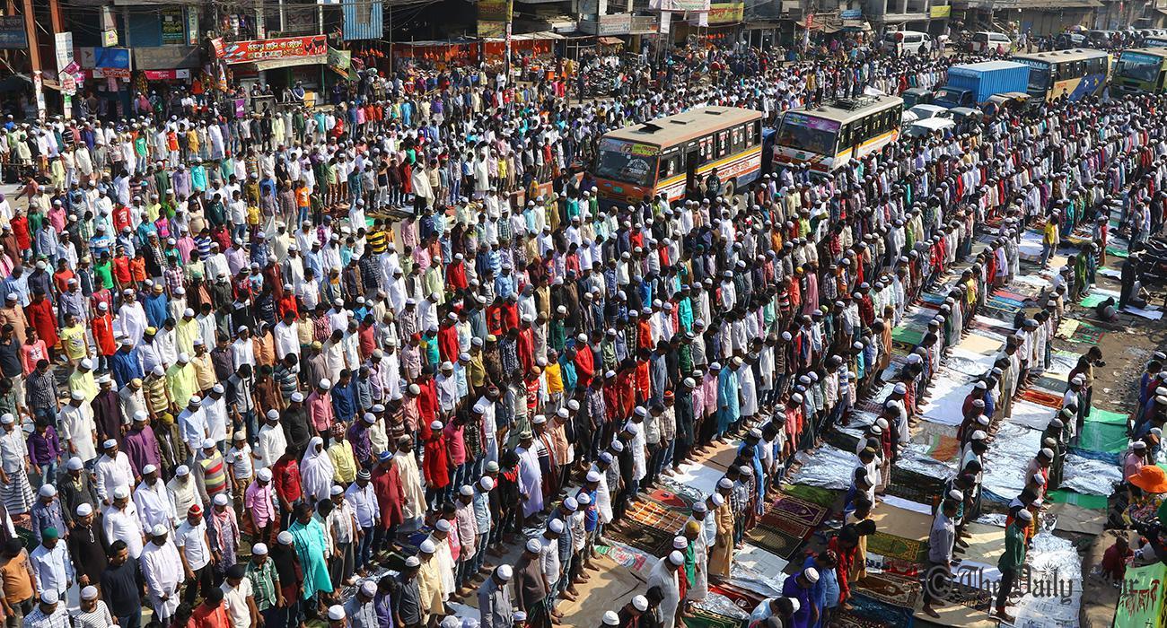 bangladeshtoholdworldssecondlargestmuslimcongregationbishwaijtemainjanuarynextyear