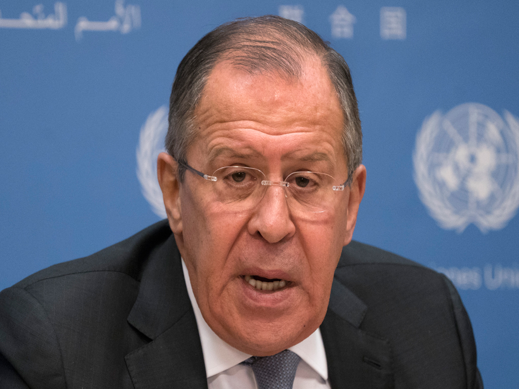 Russian Foreign Minister Lavrov warns Mike Pompeo against using force in Venezuela