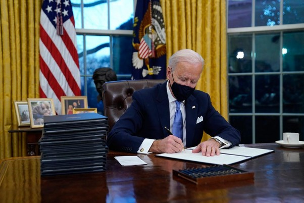 Biden launches 100 days mask challenge; makes quarantine mandatory for travellers